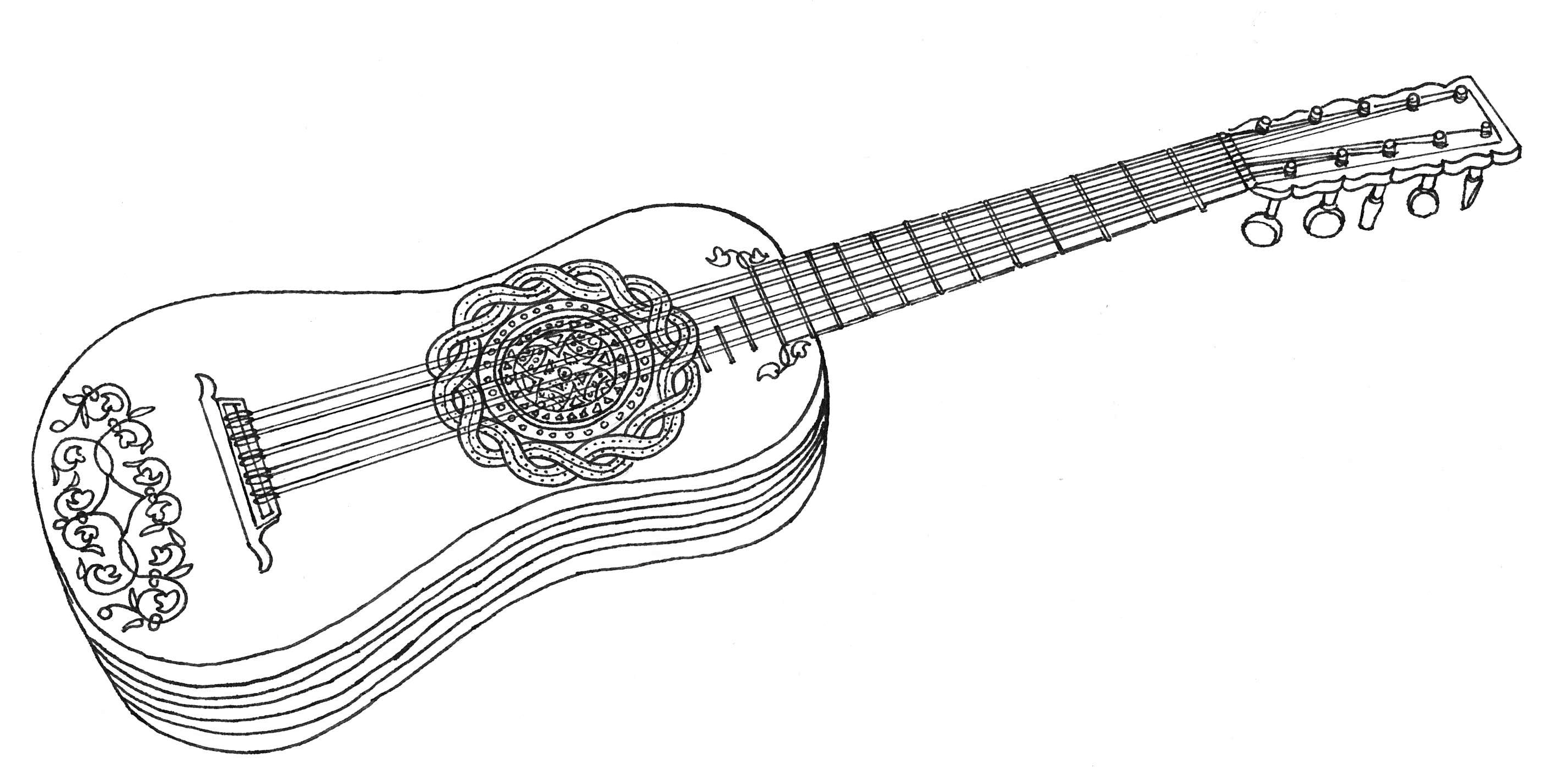 La guitare baroque