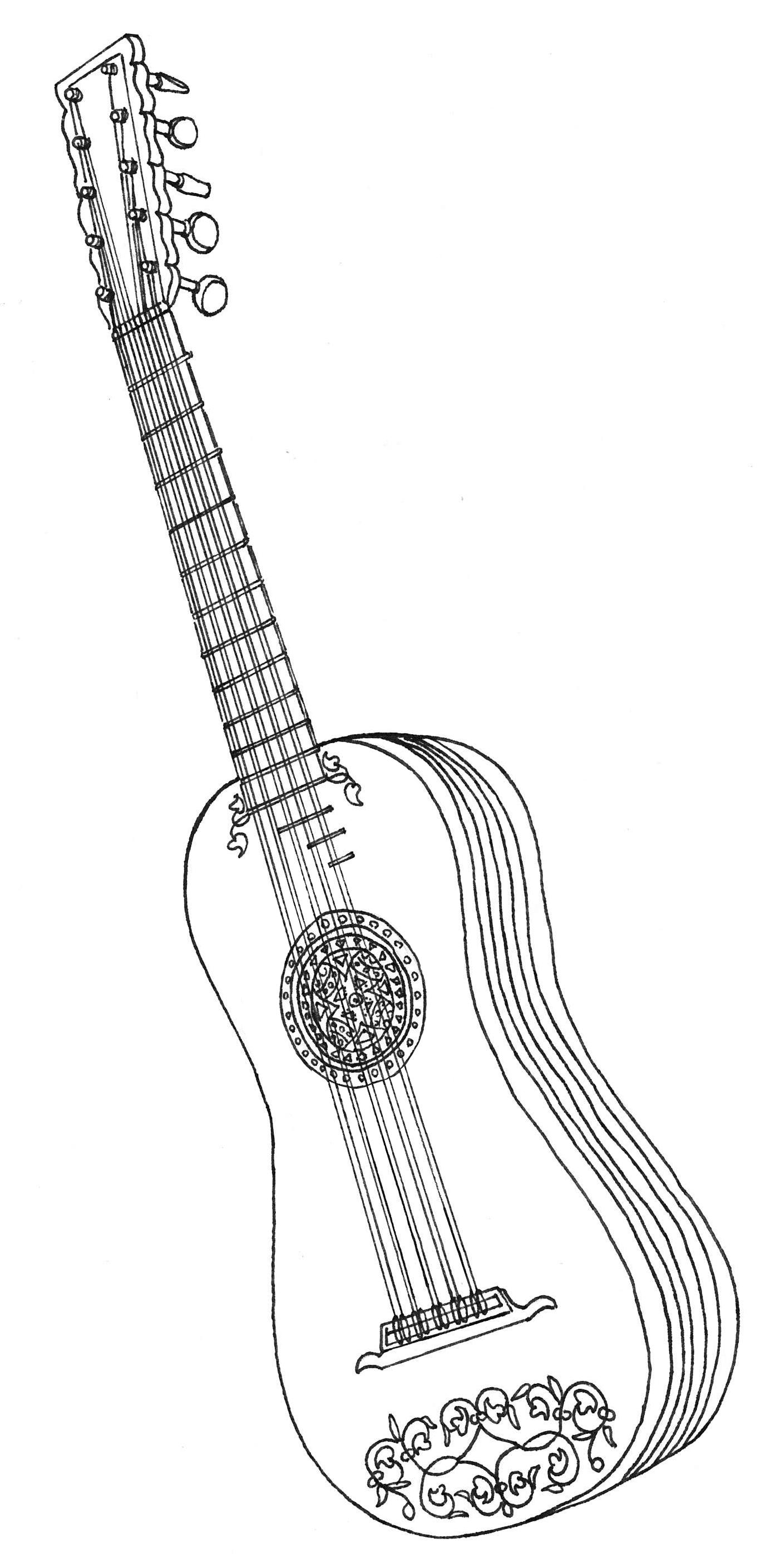 La guitare baroque